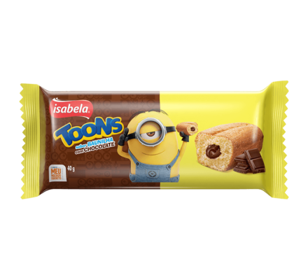 Bolinho Toons Chocolate
