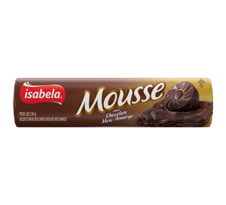 Mousse Chocolate Meio Amargo