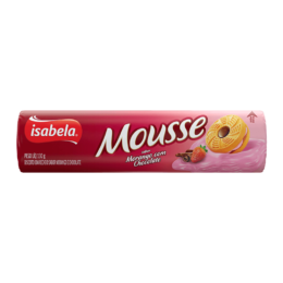 Mousse Morango e Chocolate