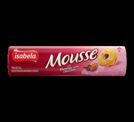 Mousse Morango e Chocolate