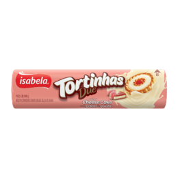 Tortinhas Due Cheese Cake e Goiaba