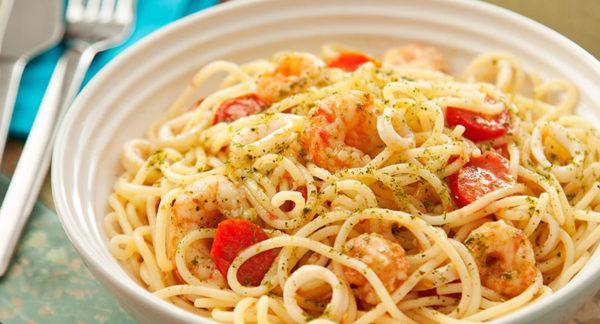 Espaguetini dos Mares do Sul