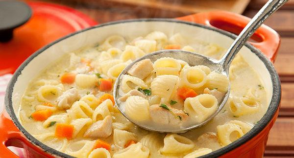 Sopa Cremosa de Frango